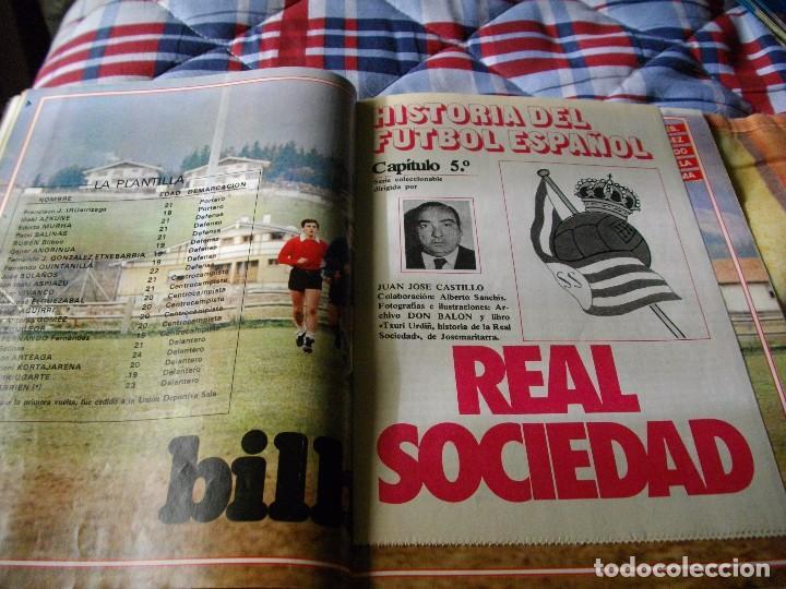 Coleccionismo deportivo: FÚTBOL.REVISTA DON BALÓN DEL 20 AL 26 DE MARZO DE 1984 . POSTER BILBAO ATH - Foto 4 - 68816213
