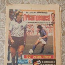 Collezionismo sportivo: DIARIO SPORT Nº946 11 DE JULIO DE 1982. Lote 190543193