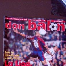Coleccionismo deportivo: REVISTA DON BALON - NUMERO 1126 - INCLUYE POSTER KIKO. Lote 77159819