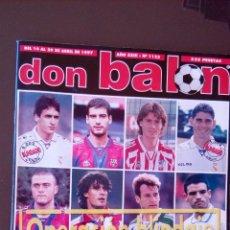 Coleccionismo deportivo: REVISTA DON BALON - NUMERO 1122 - INCLUYE POSTER ALFONSO. Lote 68965141