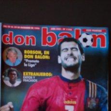 Coleccionismo deportivo: REVISTA DON BALON - NUMERO 1106 - INCLUYE POSTER REAL MADRID. Lote 68987501