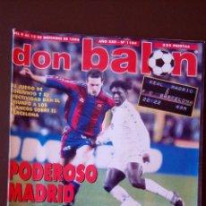 Coleccionismo deportivo: REVISTA DON BALON - NUMERO 1104 - INCLUYE POSTER BETIS. Lote 68987693