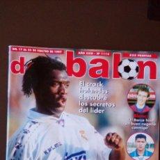 Coleccionismo deportivo: REVISTA DON BALON - NUMERO 1114 - INCLUYE POSTER OVIEDO. Lote 69007529
