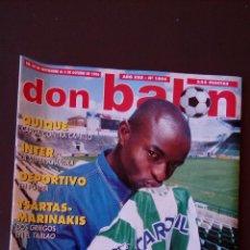 Coleccionismo deportivo - revista don balon - numero 1094 - incluye poster deportivo - 69008125