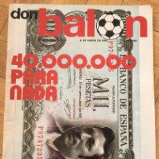 Coleccionismo deportivo: REVISTA DON BALON 6 ENERO 1976 NUMERO 14 POSTER PEREIRA PIRRI. Lote 69285889