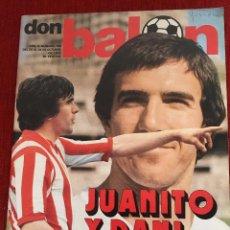 Coleccionismo deportivo: REVISTA DON BALON 26 OCTUBRE 1977 NUMERO 106 JUANITO DANI SANTILLANA ARCONADA . Lote 69485037