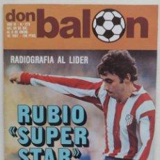 Coleccionismo deportivo: REVISTA DON BALON DEL 30 DICIEMBRE AL 6 DE ENERO DE 1981 Nº 273 POSTER R.SOCIEDAD 80-81 VER FOTOS. Lote 69679753