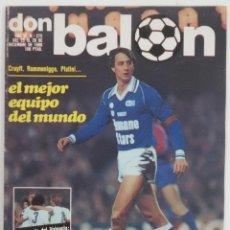 Coleccionismo deportivo: REVISTA DON BALON DEL 23 AL 29 DICIEMBRE DE 1980 Nº 272 POSTER R.C.D.ESPAÑOL VER FOTOS. Lote 69680541