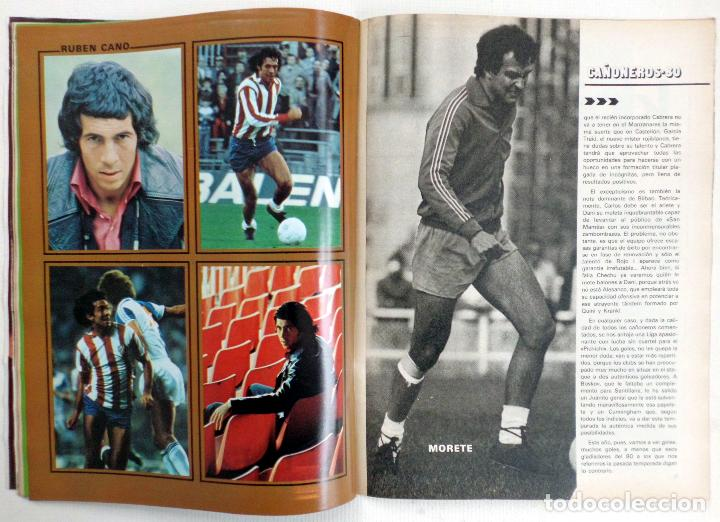 Coleccionismo deportivo: REVISTA DON BALON DEL 26 AGOSTO AL 2 SEPTIEMBRE DE DE 1980 Nº 255 POSTER JUGADORES VER FOTOS - Foto 5 - 69682037