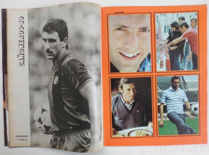 Coleccionismo deportivo: REVISTA DON BALON DEL 26 AGOSTO AL 2 SEPTIEMBRE DE DE 1980 Nº 255 POSTER JUGADORES VER FOTOS - Foto 6 - 69682037
