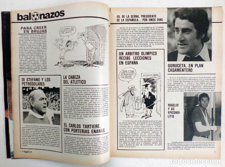 Coleccionismo deportivo: REVISTA DON BALON DEL 26 AGOSTO AL 2 SEPTIEMBRE DE DE 1980 Nº 255 POSTER JUGADORES VER FOTOS - Foto 7 - 69682037