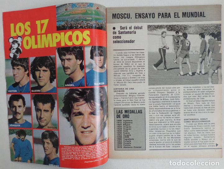 Coleccionismo deportivo: REVISTA DON BALON DEL 22 AL 28 DE JULIO DE 1980 Nº 250 POSTER VALENCIA VER FOTOS - Foto 3 - 72299283