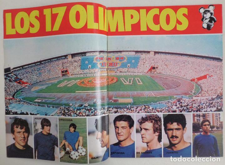 Coleccionismo deportivo: REVISTA DON BALON DEL 22 AL 28 DE JULIO DE 1980 Nº 250 POSTER VALENCIA VER FOTOS - Foto 4 - 72299283