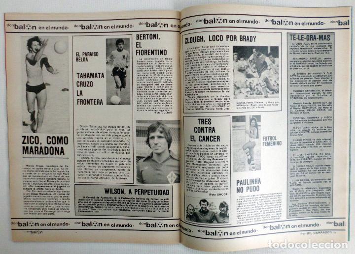 Coleccionismo deportivo: REVISTA DON BALON DEL 22 AL 28 DE JULIO DE 1980 Nº 250 POSTER VALENCIA VER FOTOS - Foto 6 - 72299283