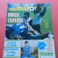 Coleccionismo deportivo: DON BALON 654 ESPECIAL RCD ESPANYOL FINAL COPA UEFA 1987/1988 - ESPAÑOL - BRUJAS FINALISTA 87/88. Lote 69820333