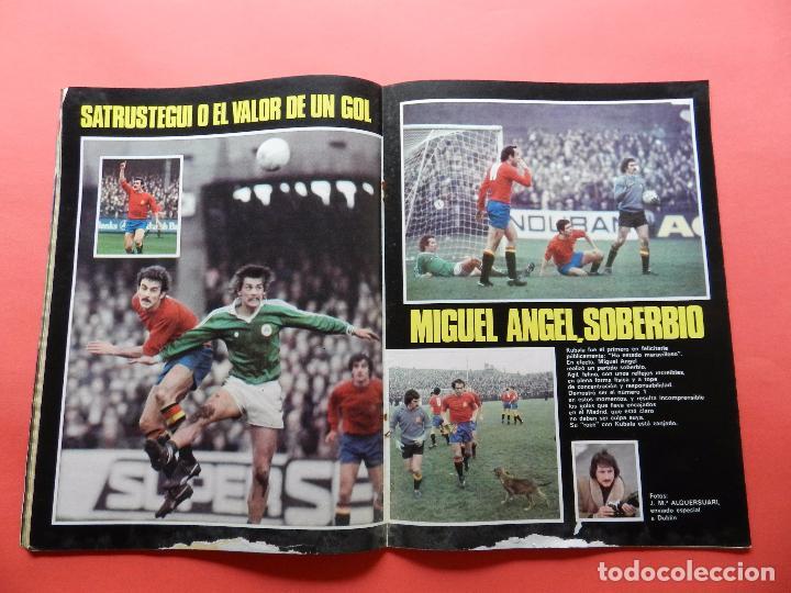 Coleccionismo deportivo: REVISTA DON BALON Nº 71 1977 CRUYCIFIXION-CRUYFF FC BARCELONA CRUCIFICADO-AYALA-MIGUEL ANGEL-ELCHE - Foto 2 - 69828741
