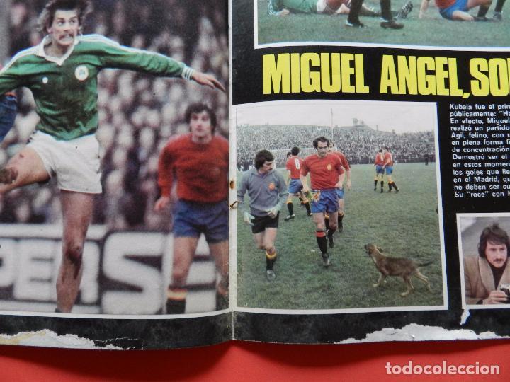 Coleccionismo deportivo: REVISTA DON BALON Nº 71 1977 CRUYCIFIXION-CRUYFF FC BARCELONA CRUCIFICADO-AYALA-MIGUEL ANGEL-ELCHE - Foto 3 - 69828741