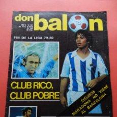 Coleccionismo deportivo: DON BALON Nº 241 VALENCIA CF CAMPEON RECOPA 79/80 POSTER RECORD REAL SOCIEDAD 1979/1980 MARADONA. Lote 69833137