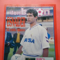 Coleccionismo deportivo: DON BALON Nº 810 ESPECIAL FINAL RECOPA DE EUROPA 90/91 FC BARCELONA UNITED POSTER 1991 FINALISTA. Lote 69911229