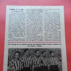 Coleccionismo deportivo: SUPLEMENTO ATHLETIC CLUB BILBAO - HISTORIA DEL FUTBOL ESPAÑOL REVISTA DON BALON CAPITULO Nº 2. Lote 69914337