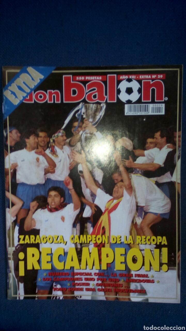 DON BALON EXTRA 29 ZARAGOZA CAMPEON RECOPA 1995 (Coleccionismo Deportivo - Revistas y Periódicos - Don Balón)
