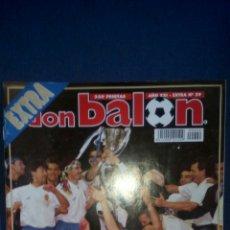 Coleccionismo deportivo: DON BALON EXTRA 29 ZARAGOZA CAMPEON RECOPA 1995. Lote 70128759
