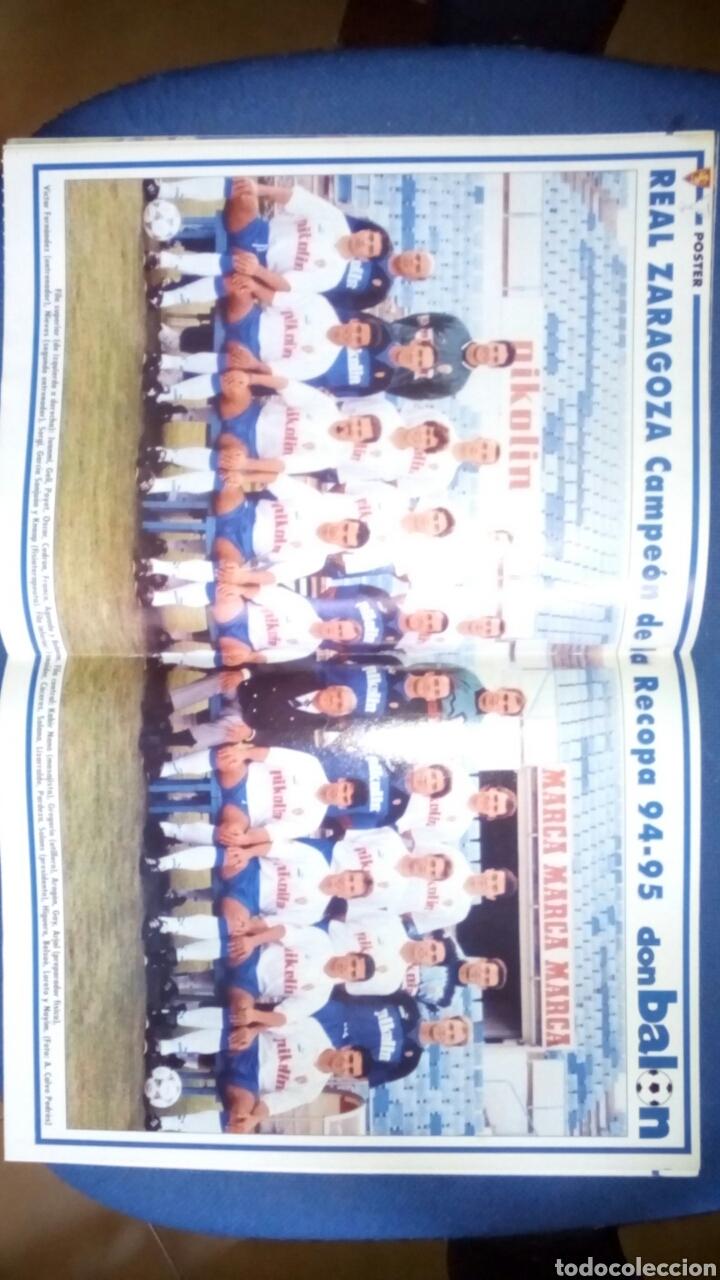 Coleccionismo deportivo: Don balon extra 29 zaragoza campeon recopa 1995 - Foto 2 - 70128759