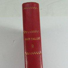 Coleccionismo deportivo: DON BALON. TOMO 2. AÑO I DESDE NUMERO 11 AL 20 + DOS NÚMEROS EXTRA.1975. 1976. REAL MADRID. ATLETICO. Lote 70147989