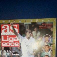 Coleccionismo deportivo: GUIA AS LIGA 2001 2002 BARCELONA,MADRID.... Lote 70208605
