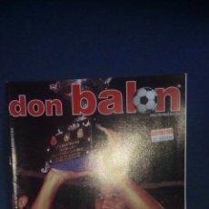 Coleccionismo deportivo: DON BALON 1298 DEPORTIVO CORUÑA CAMPEON SUPERCOPA CON POSTER. Lote 70208733