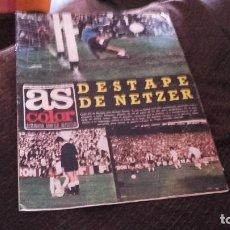 Coleccionismo deportivo: AS COLOR NÚMERO 199- CON POSTER DEL ALAVES ( PEDIDO MINIMO 5 EUROS ). Lote 71459159
