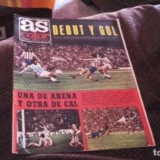 Coleccionismo deportivo: AS COLOR NÚMERO 201- CON POSTER DEL ELCHE ( PEDIDO MINIMO 5 EUROS ). Lote 71459403