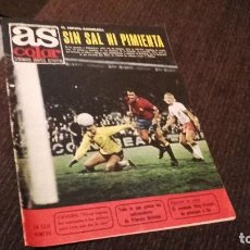 Coleccionismo deportivo: AS COLOR NÚMERO 230- CON POSTER DEL BETIS ( PEDIDO MINIMO 5 EUROS ). Lote 71505503