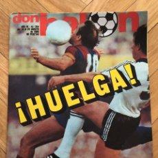 Coleccionismo deportivo: DON BALON NUMERO 254 25 AGOSTO 1980 HUELGA FUTBOL SANTANA GORDILLO MARCELINO CELAYETA TENDILLO. Lote 71604203