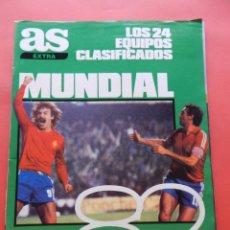 Coleccionismo deportivo: REVISTA GUIA DIARIO AS MUNDIAL ESPAÑA 1982 - EXTRA COPA DEL MUNDO SPAIN 82 FIFA WORLD CUP WC. Lote 71661479
