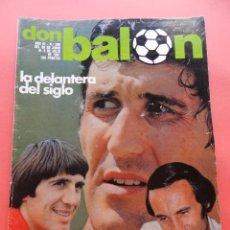 Collectionnisme sportif: REVISTA DON BALON Nº 299 1981 POSTER FERRERO SPORTING GIJON 80/81-CARLOS-MARAÑON-ROBERTO. Lote 71662235