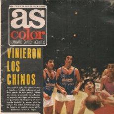 Collectionnisme sportif: AS COLOR. Nº 115. 21 AGOSTO 1973. POSTER: LUIS OCAÑA. (P/B75). Lote 71835627