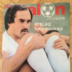 Coleccionismo deportivo: DON BALON 266 17 NOVIEMBRE 1980 STIELIKE SOLSONA DEBUT SCHUSTER BARCELONA POSTER BETIS BONHOF. Lote 71908311