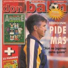 Coleccionismo deportivo: DON BALÓN. Nº 1202. 1 NOVIEMBRE 1998. (Z/28). Lote 72509527
