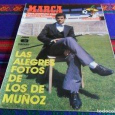 Coleccionismo deportivo: MARCA GUÍA COMPLETA PARA SEGUIR EL MUNDIAL DE FÚTBOL MÉXICO 86 1986. BUEN ESTADO.. Lote 84215555