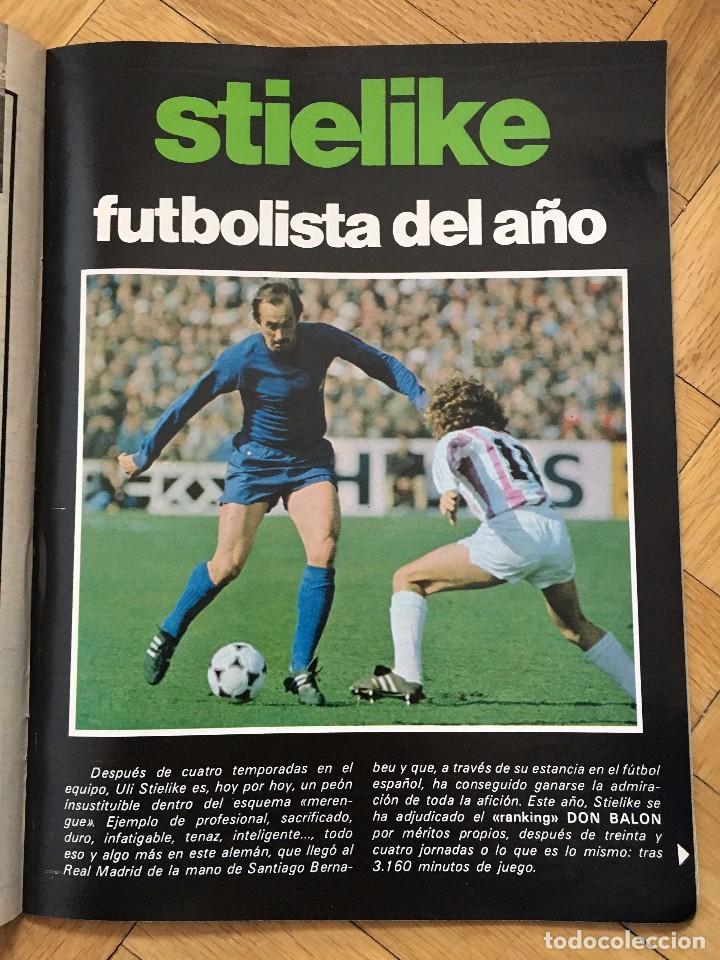 Coleccionismo deportivo: DON BALON 292 18 MAYO 1981 SCHUSTER KUBALA STIELIKE MURCIA REAL MADRID BARCELONA - Foto 3 - 72735735