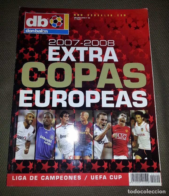 EXTRA COPAS EUROPEAS 2007-2008 DON BALÓN Nº 100 (Coleccionismo Deportivo - Revistas y Periódicos - Don Balón)