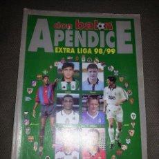 Coleccionismo deportivo: APÉNDICE EXTRA LIGA 98/99 DON BALÓN Nº 1202. Lote 72822347