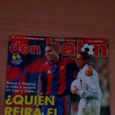 Coleccionismo deportivo: REVISTA DON BALON 1112 - INCLUYE POSTER HERCULES -. Lote 72823907