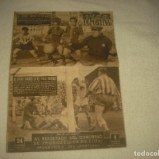 Coleccionismo deportivo: VIDA DEPORTIVA . MAYO 1954 . EN PORTADA BARÇA Y ESPAÑOL CAMINO DE LA COPA. Lote 72838447