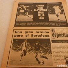 Coleccionismo deportivo: MUNDO DEPORTIVO(22-4-73)!!ESPAÑOL 1 R.MADRID 0!!PROX.HOLANDA-ESPAÑA,ANDRÉS(R.MADRID)U.D.LAS PALMAS.. Lote 136430204