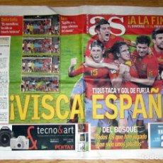 Coleccionismo deportivo: DIARIO AS ESPAÑA CAMPEON MUNDIAL SUDAFRICA 2010 FIFA WORLD CUP FOOTBALL SOUTH AFRICA SEMIFINALES. Lote 98684138