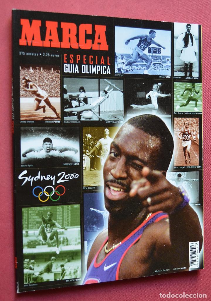 MARCA - ESPECIAL GUIA OLIMPICA - SYDNEY 2000 (Coleccionismo Deportivo - Revistas y Periódicos - Marca)
