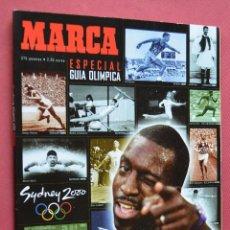 Coleccionismo deportivo: MARCA - ESPECIAL GUIA OLIMPICA - SYDNEY 2000. Lote 73725495