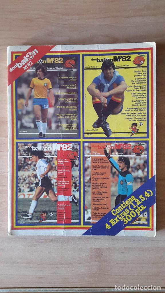 REVISTA DE FUTBOL DON BALON M82 - MUNDIAL 82 - CONTIENE 4 EXTRAS (1,2,3,4) - (VER FOTOS ADICIONALES) (Coleccionismo Deportivo - Revistas y Periódicos - Don Balón)
